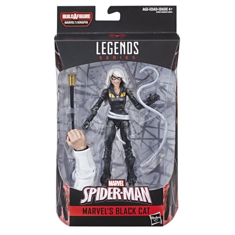 Marvel Legends Series Spider-Man Black Cat Action Figure