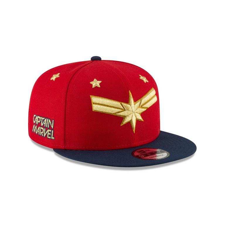 Captain Marvel Logo Baseball Cap