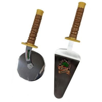 Teenage Mutant Ninja Turtles Pizza Cutter and Spatula Set