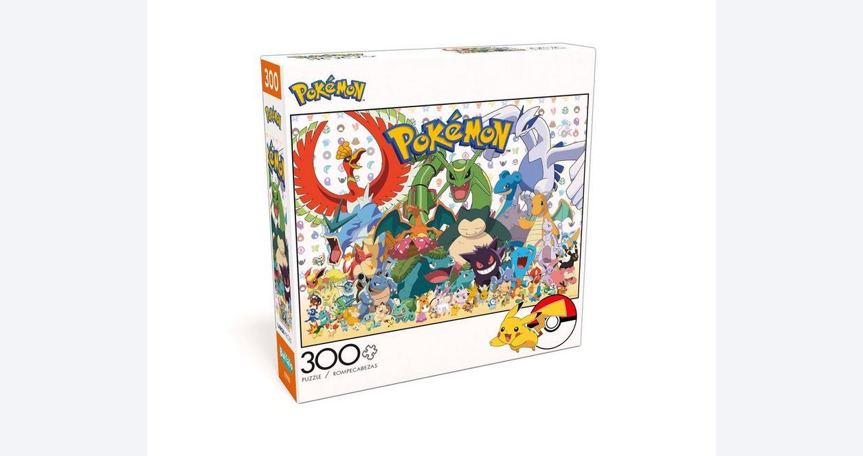 Pokemon Fan Favorites Puzzle