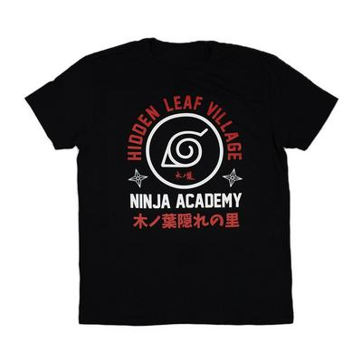 Naruto Shippuden Ninja Academy Mens T-Shirt