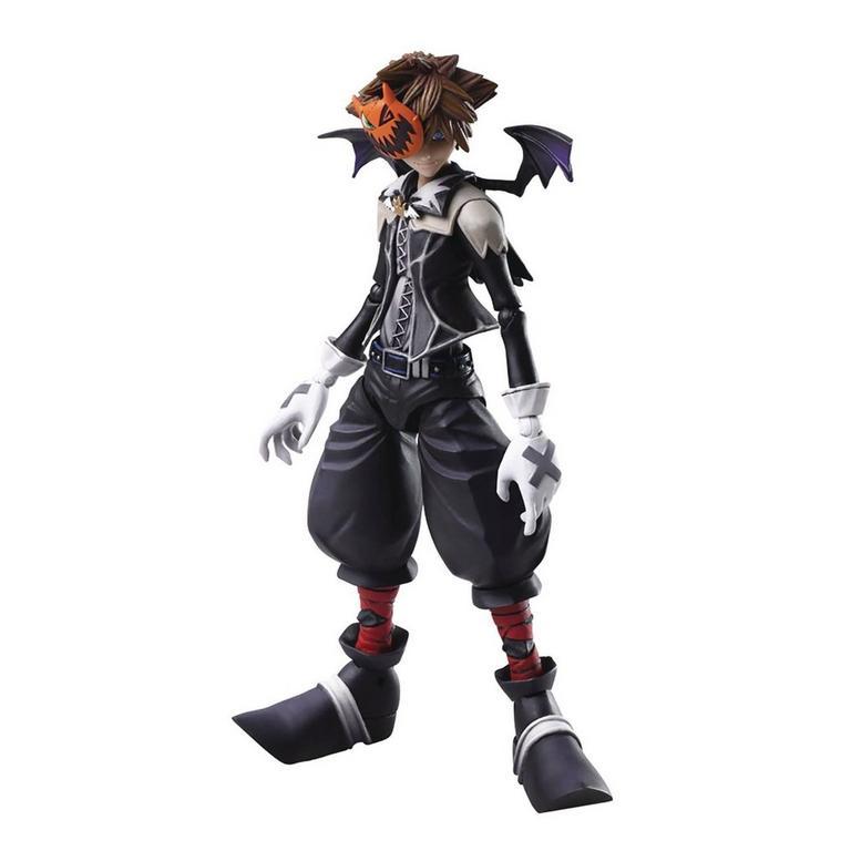 Kingdom Hearts II Halloween Town Sora Bring Arts Action Figure