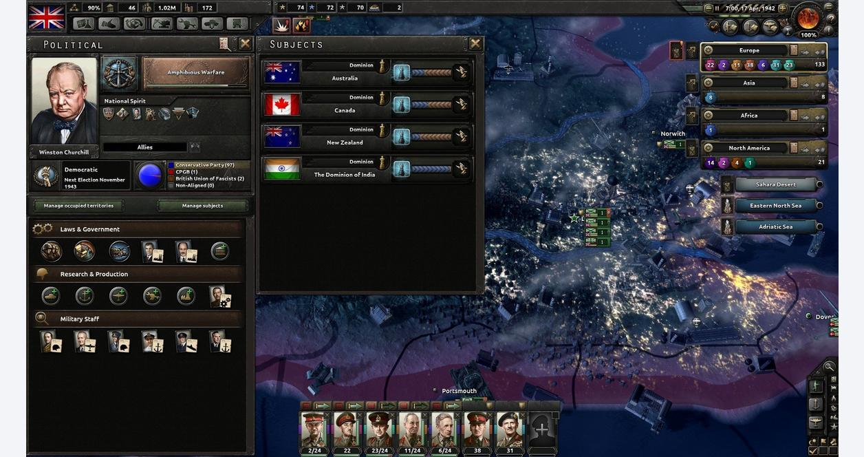 Hearts of Iron IV:Together for Victory