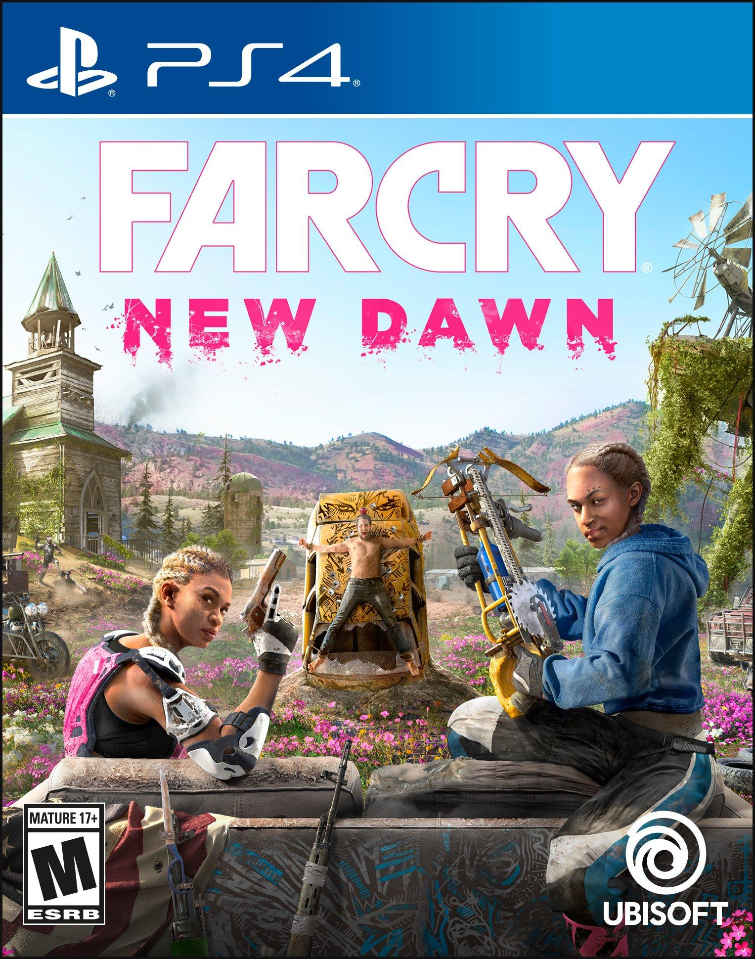 Image result for far cry new dawn ps4 cover
