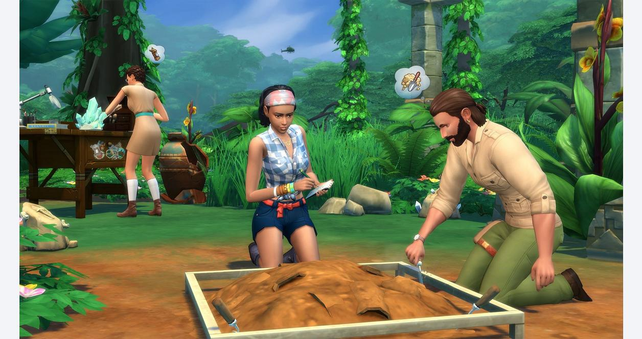 Sims 4: Jungle Adventure