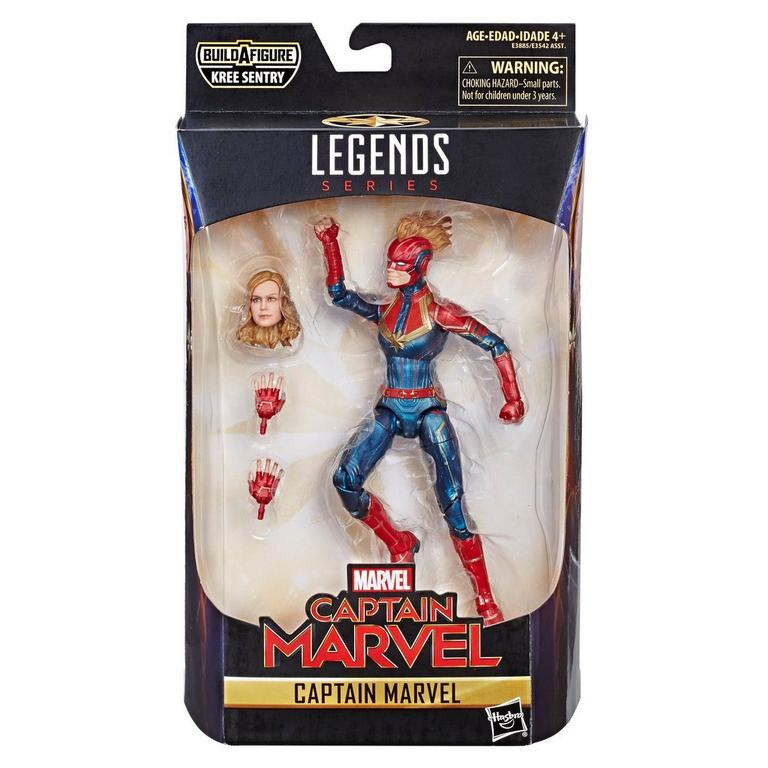 Marvel Legends Series: Captain Marvel - Captain Marvel