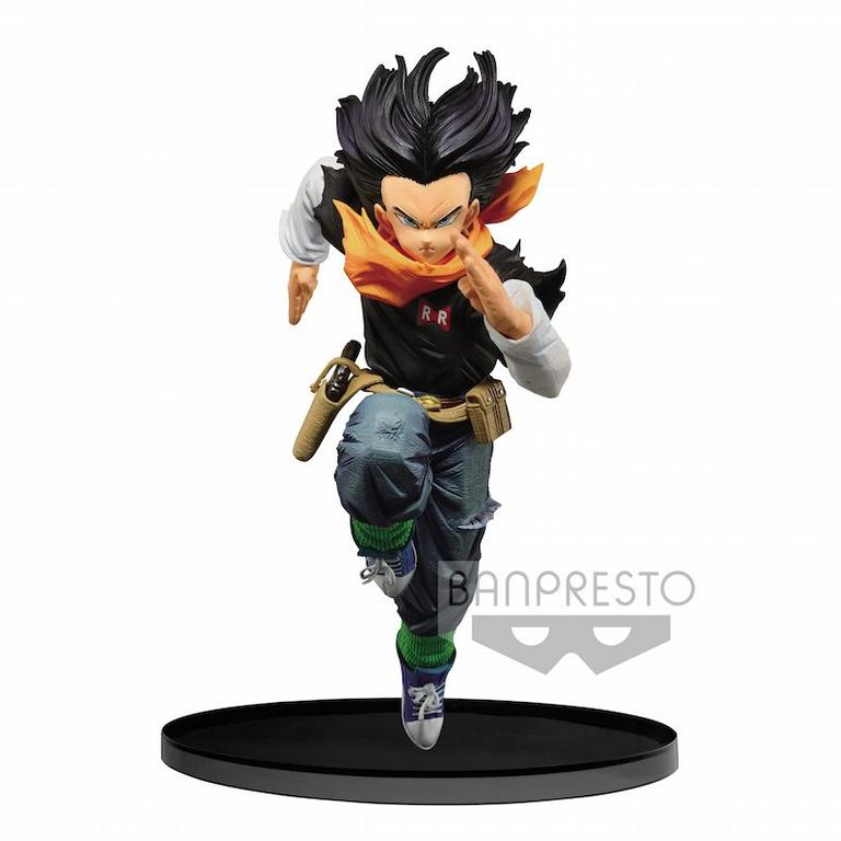 Dragon Ball Z Android 17 World Figure Colosseum 2 Volume 3 Statue