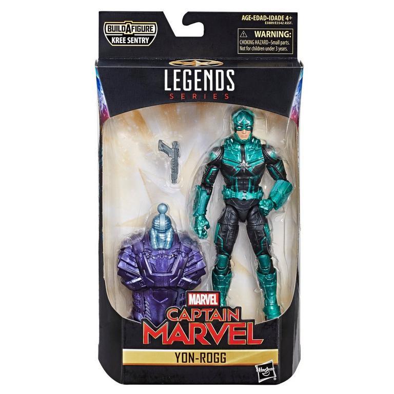 Marvel Legends Series Captain Marvel Yon-Rogg Action Figure