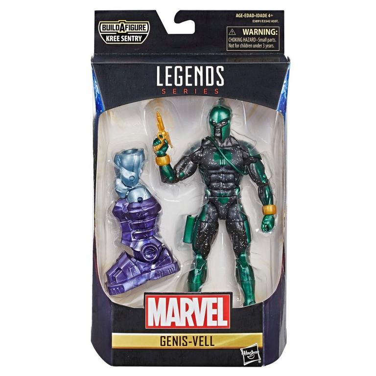 Marvel Legends Series Captain Marvel Genis-Vell Action Figure