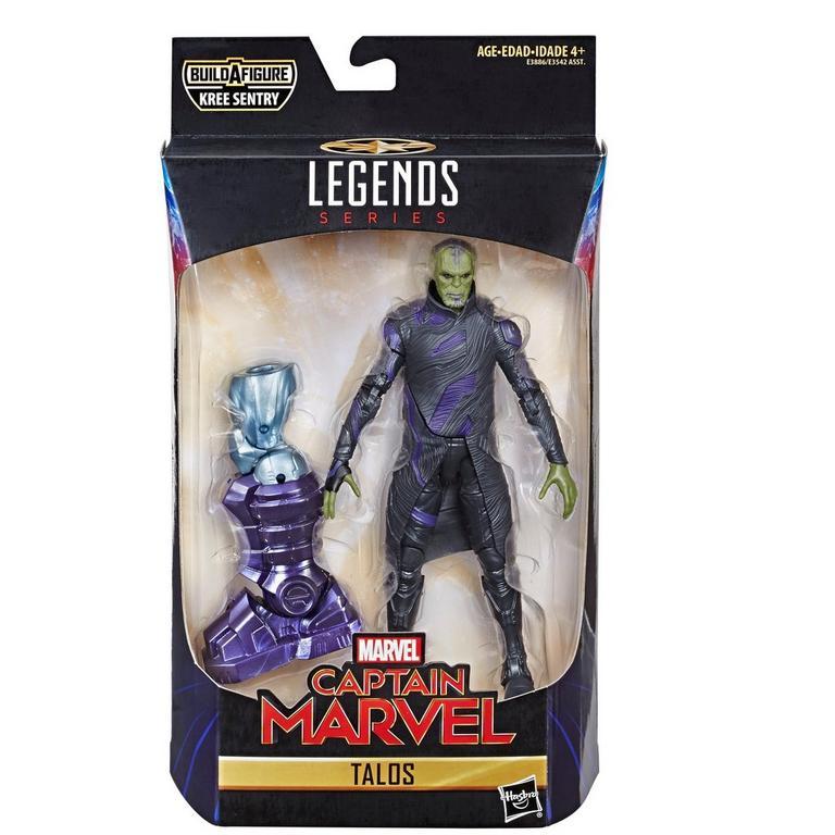 Marvel Legends Series Captain Marvel Talos Skrull Action Figure