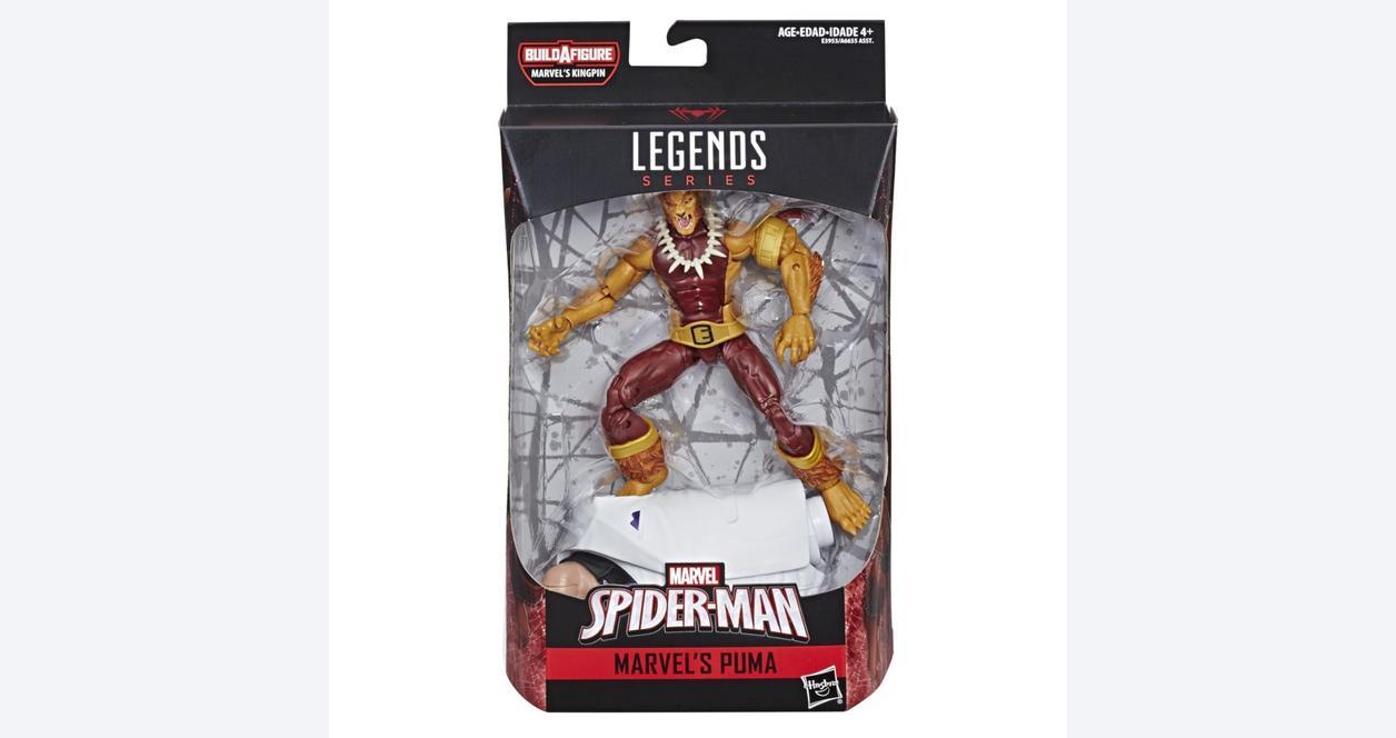 Marvel Legends Series Spider-Man Puma Action Figure