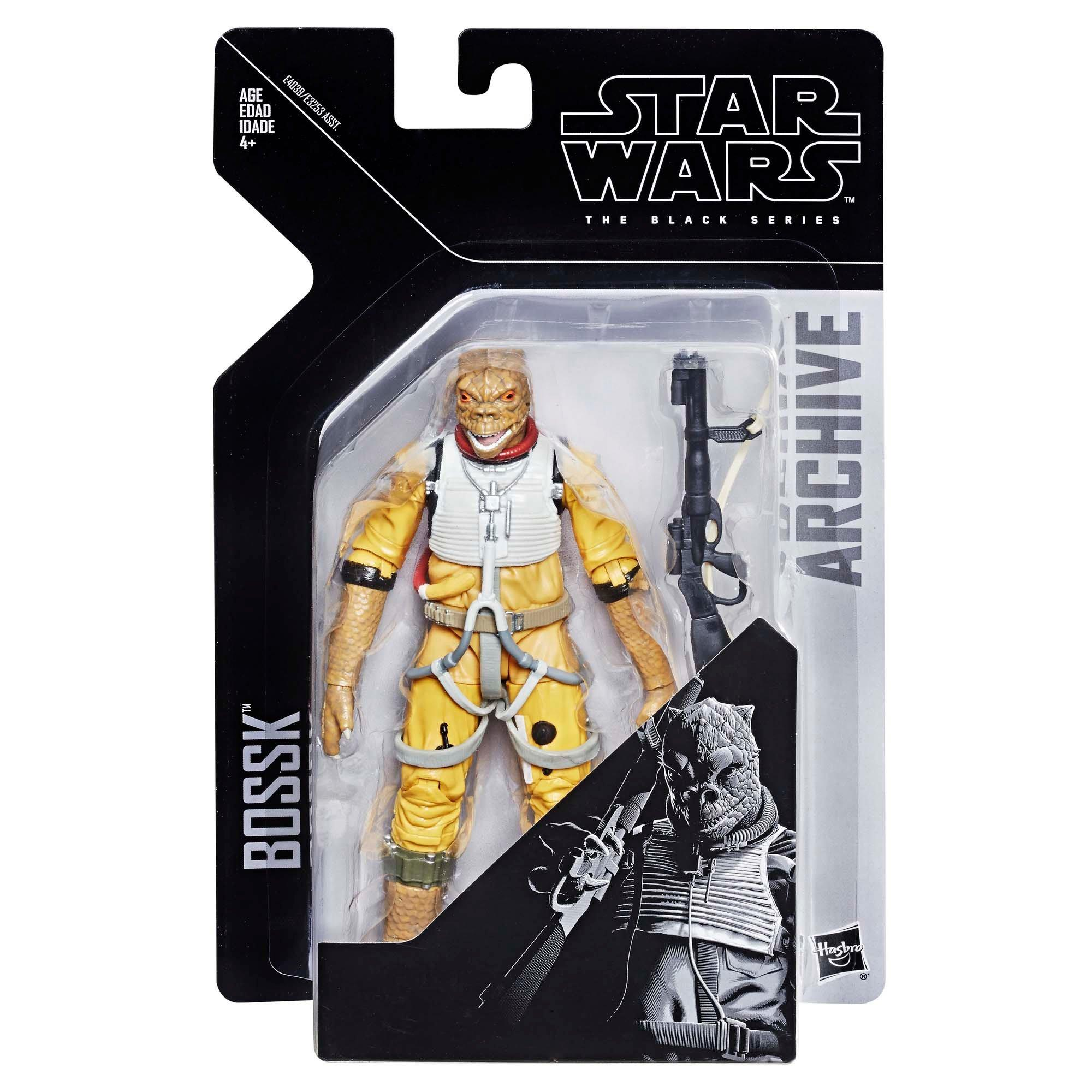 """Wave 1 Star Wars Black Series Archive 6/"""" Bossk Action Figure"""