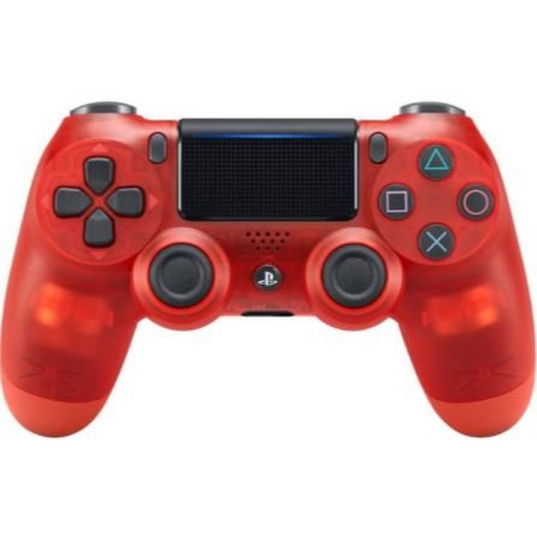 Sony DUALSHOCK 4 Crystal Red Wireless Controller