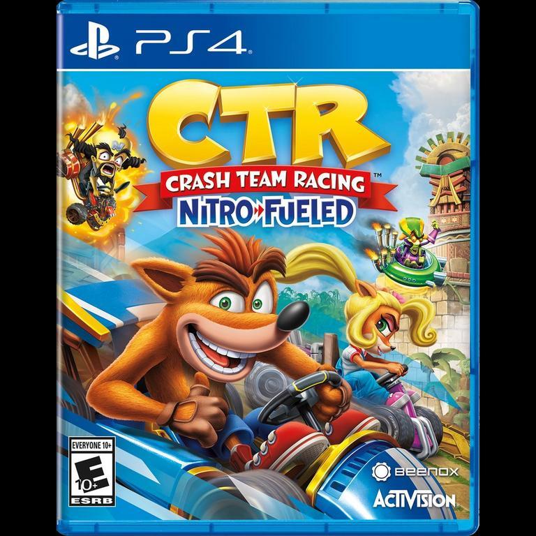 Crash Team Racing Nitro Fueled Playstation 4 Gamestop
