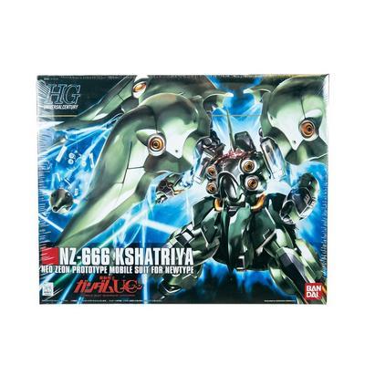 Gundam Mobile Suit Gundam Unicorn NZ-666 Kshatriya High Grade Universal Century Model Kit