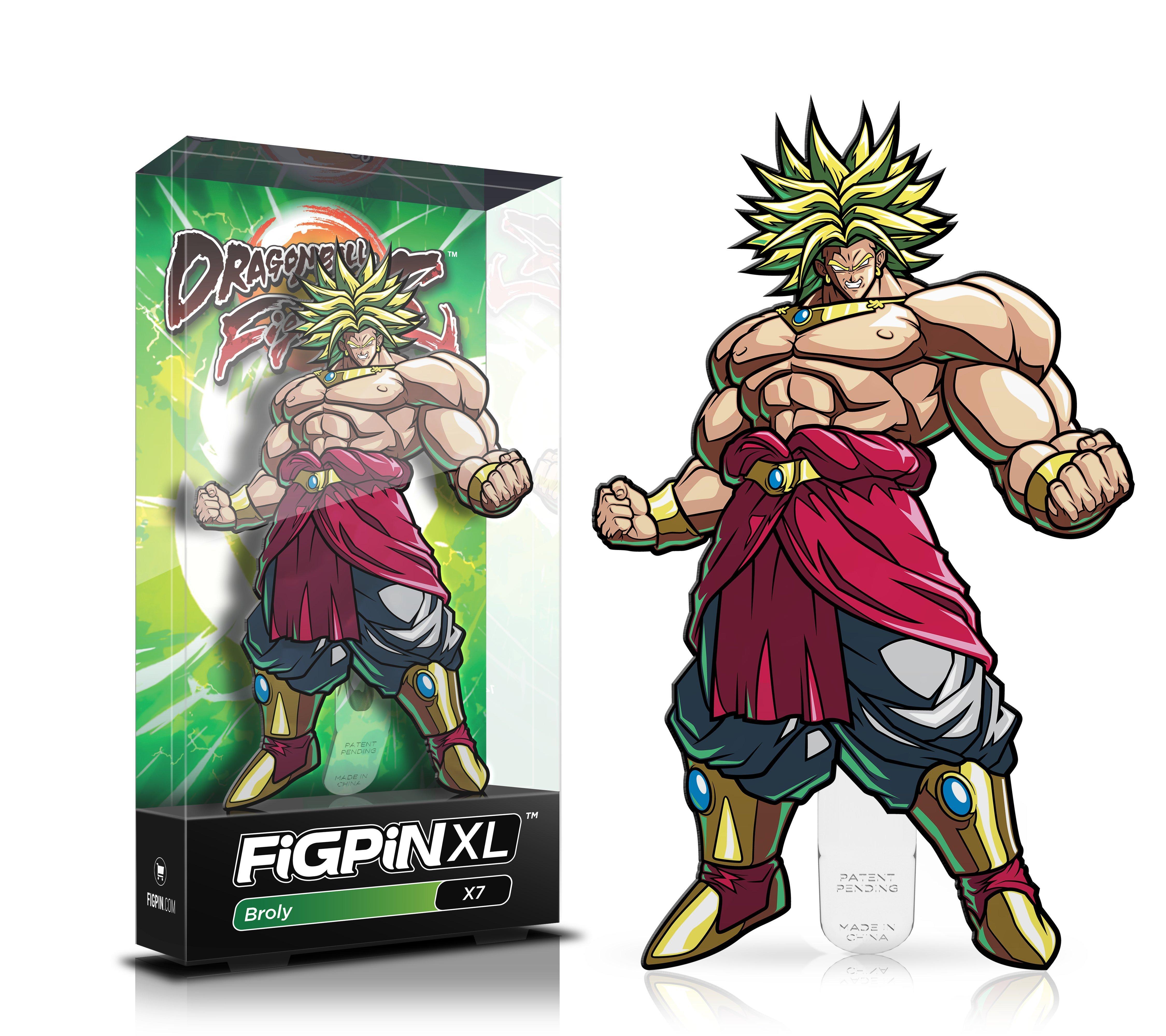Dragon Ball Z Broly Figpin Xl Gamestop