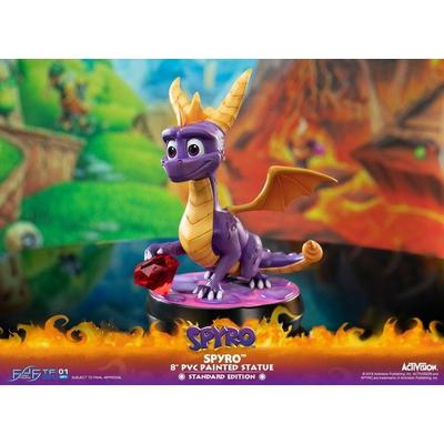 Spyro 8 inch PVC Painted Statue
