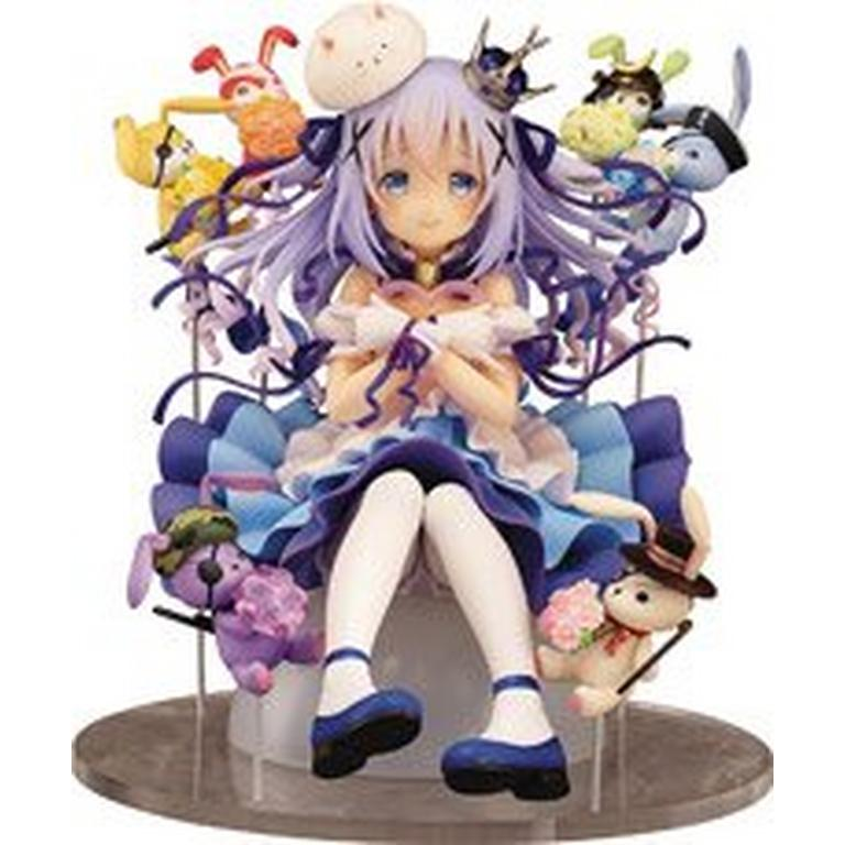 Is the Order a Rabbit? Chino and Rabbit Dolls Statue