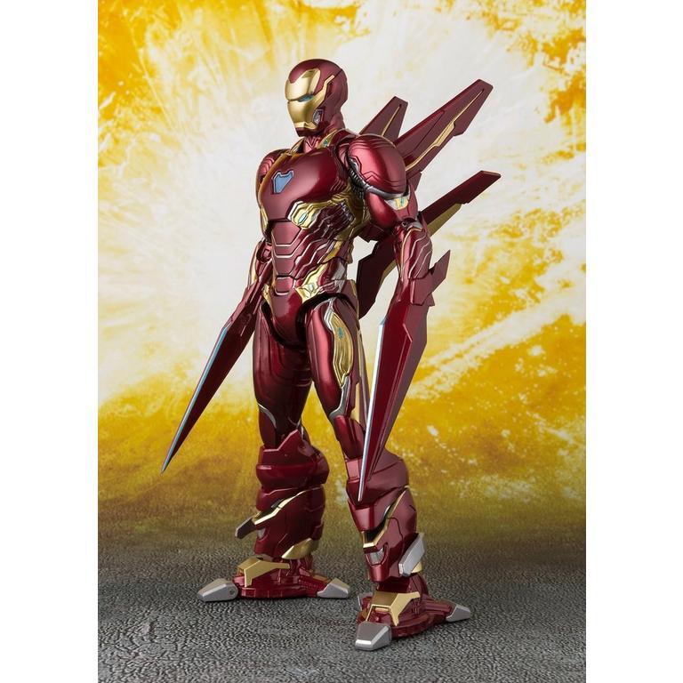 S.H Figuarts Avengers Infinity War IRON MAN MK50 Set Nano ARMA Action Figure