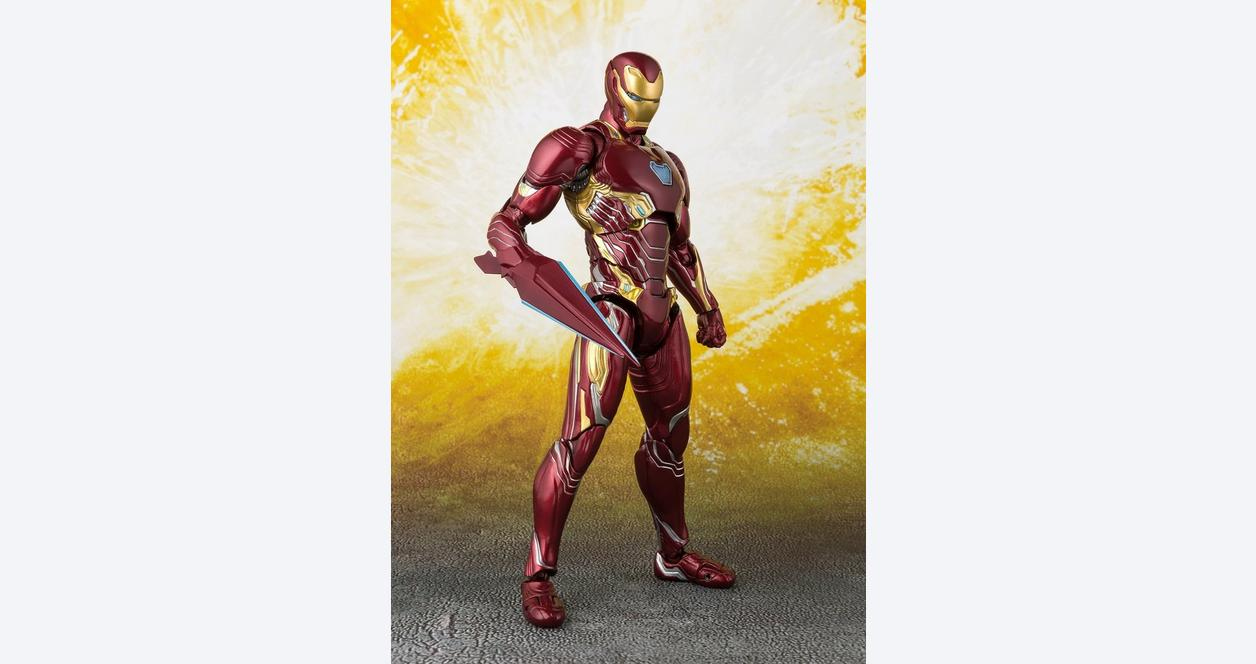 Avengers: Infinity War Iron Man MK-50 with Nano-Weapons S.H.Figuarts Action Figure