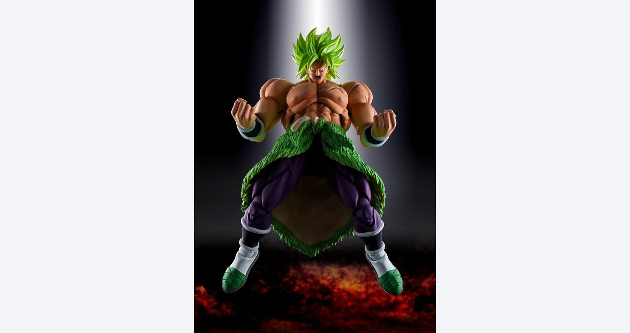 Dragon Ball Z Super Saiyan Broly Full Power S.H. Figuarts Action Figure