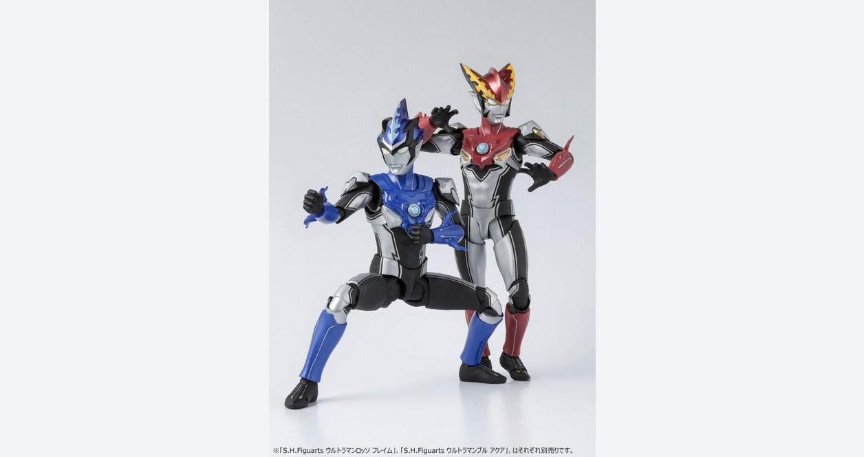 S.H.Figuarts Ultraman Rosso Flame Action Figure