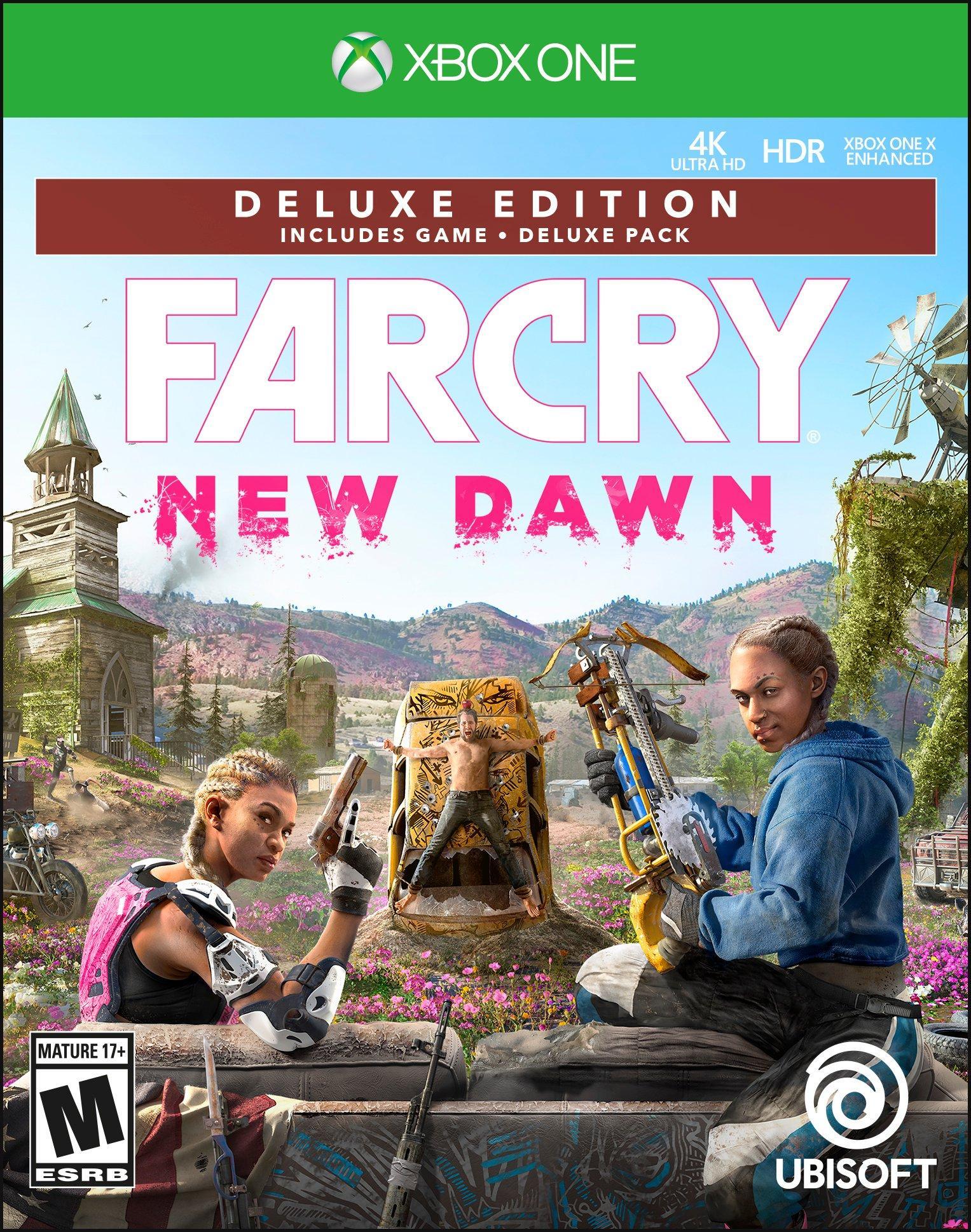 Far Cry New Dawn Deluxe Edition Xbox One Gamestop