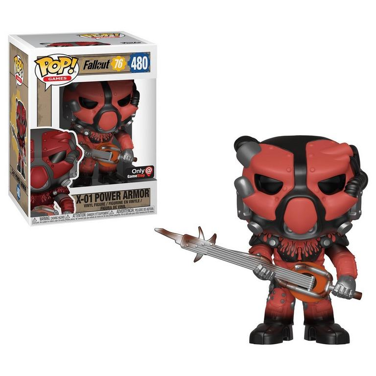 POP! Games: Fallout 76 X-01 Power Armor Only at GameStop