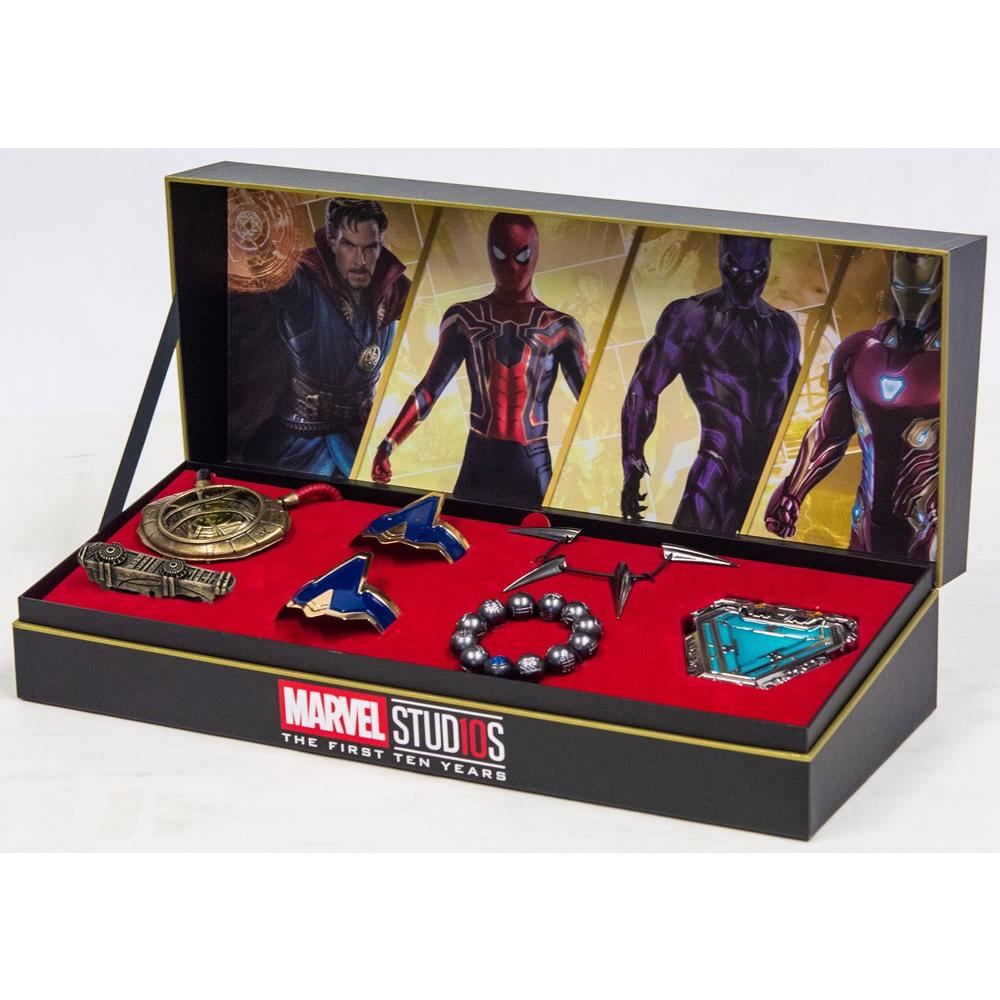 Marvel Studios Avengers Power Pack Jewelry Collection Only at GameStop |  GameStop