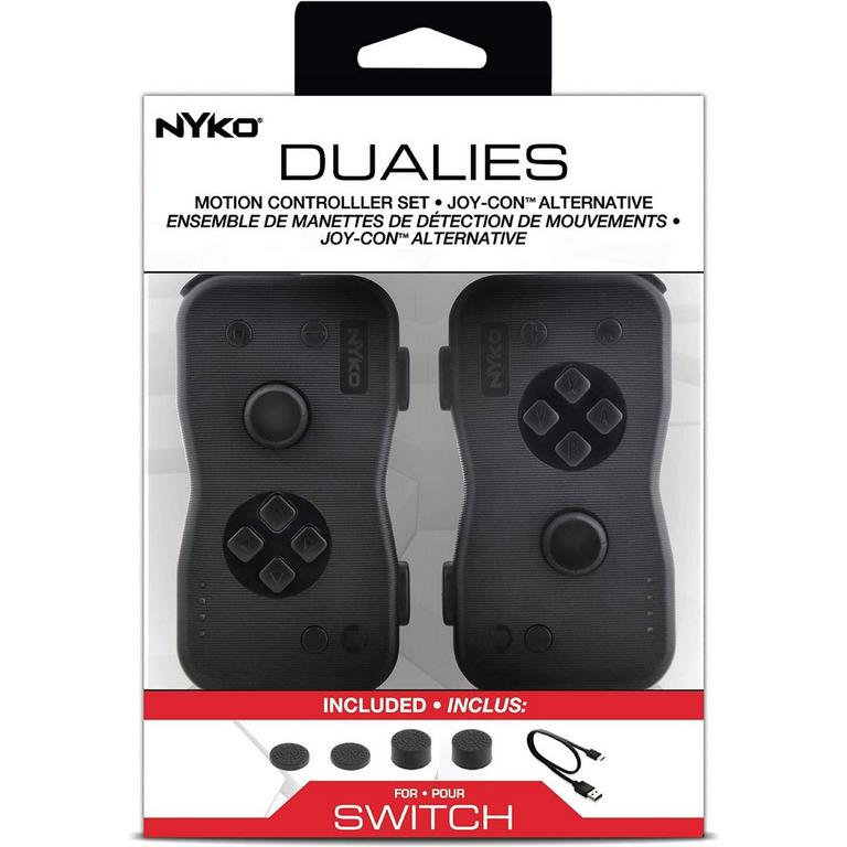 Dualies Motion Controllers for Nintendo Switch