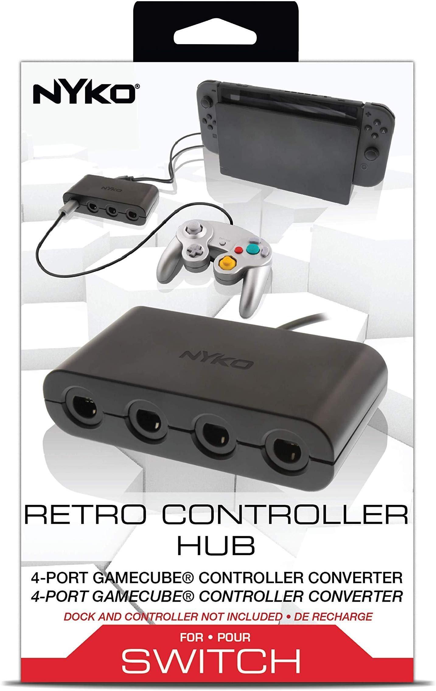 Nintendo Switch Nyko GameCube Retro Controller Hub   Nintendo Switch    GameStop