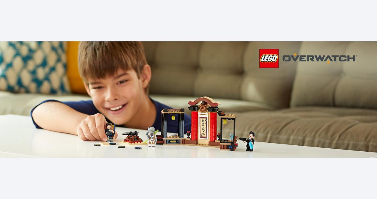 LEGO Overwatch: Hanzo vs Genji