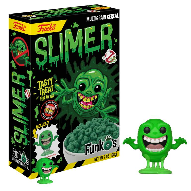 POP! Cereal: FunkOs Ghostbusters Slimer Only at GameStop