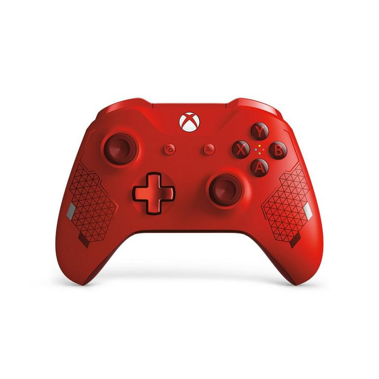 Xbox One Sport Red Special Edition Wireless Controller