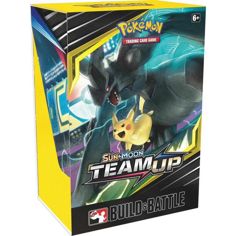 Pokemon Trading Card Game: Sun and Moon Team Up Build & Battle Box