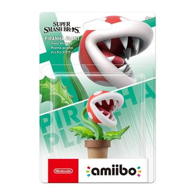 Super Smash Bros. Piranha Plant amiibo Figure