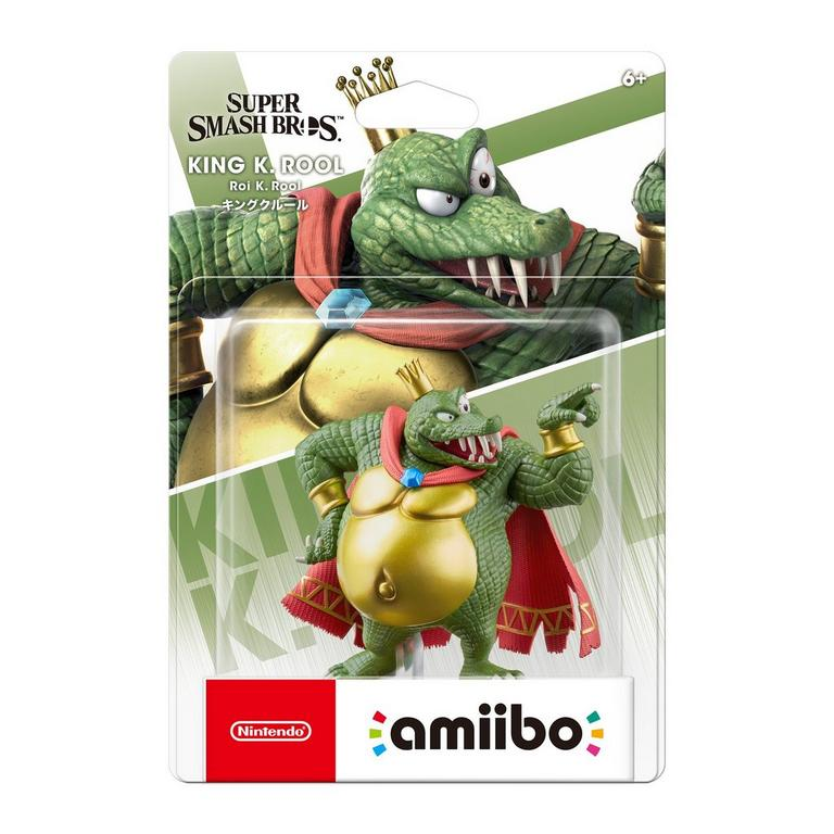 Super Smash Bros. King K. Rool amiibo