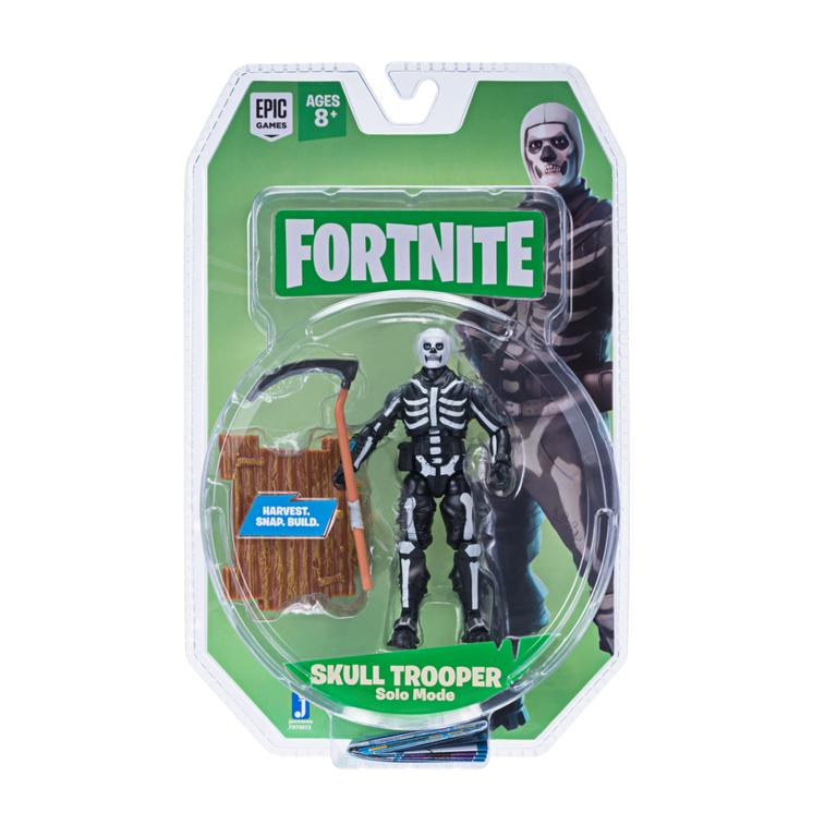 Fortnite Skull Trooper Solo Mode Action Figure