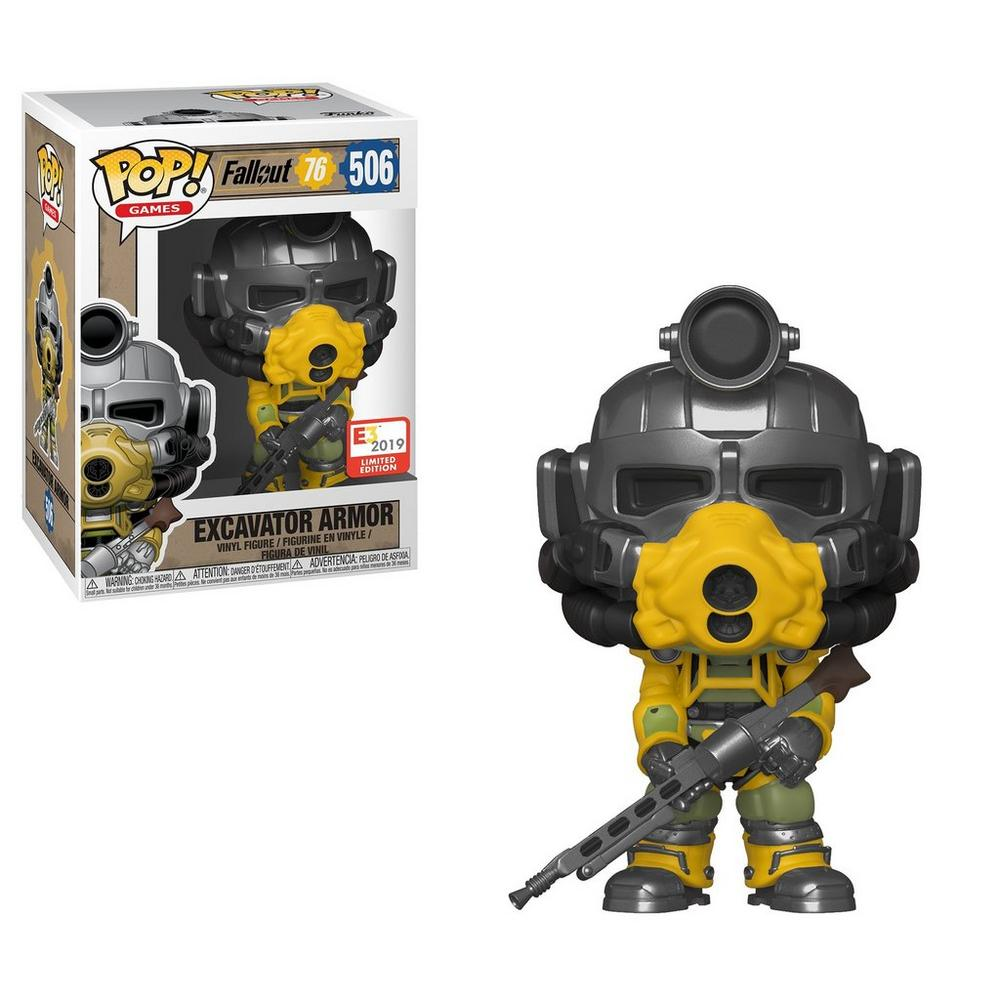 POP! Games: Fallout 76 Excavator Armor E3 2019 Limited Edition Only at  GameStop | GameStop