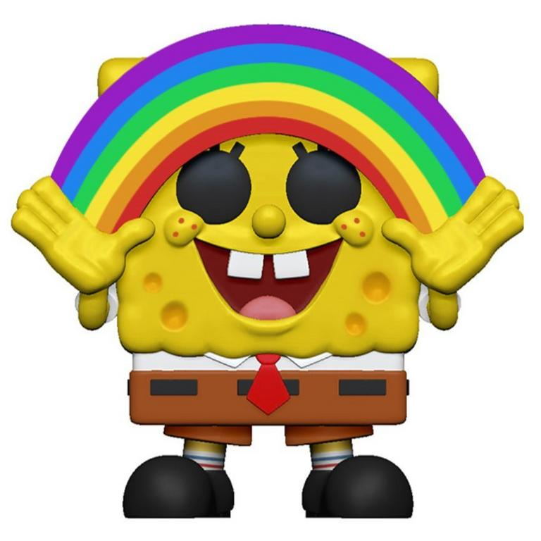 POP! Animation: SpongeBob SquarePants with Rainbow