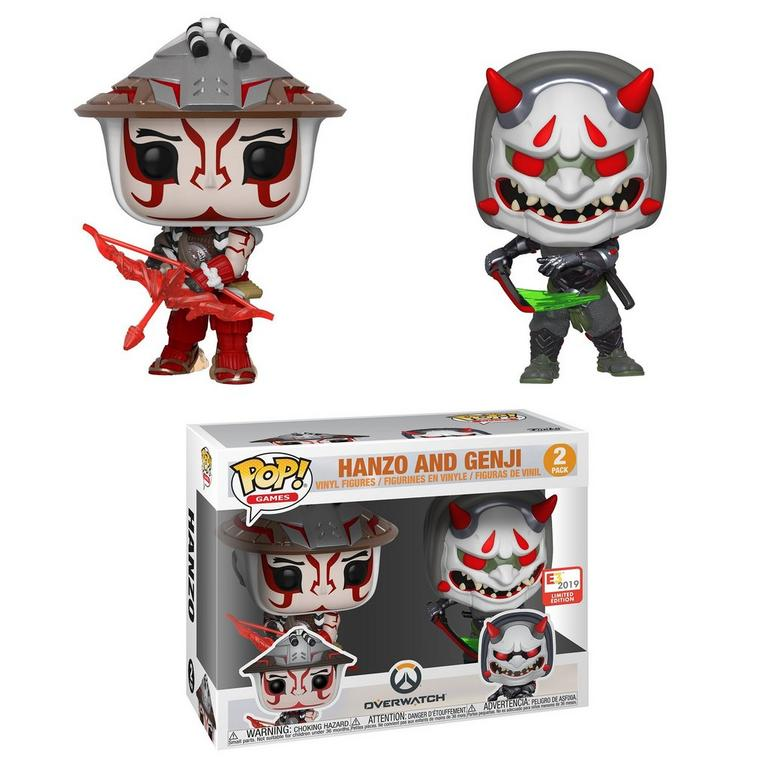 POP! Games: Overwatch Hanzo and Genji 2 Pack E3 2019 Limited Edition Only at GameStop