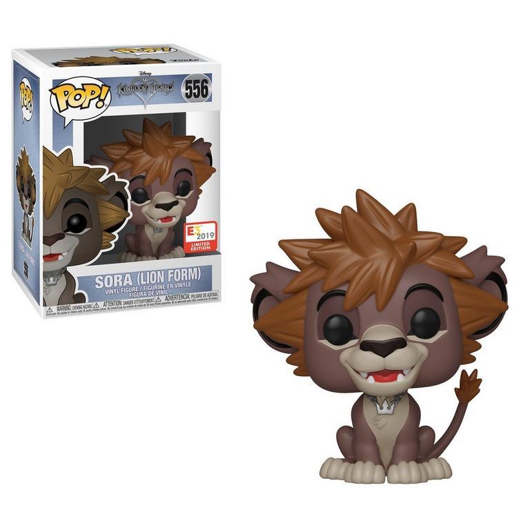 Funko POP! Disney: Kingdom Hearts Sora (Lion Form) E3 2019 Limited Edition Only at GameStop