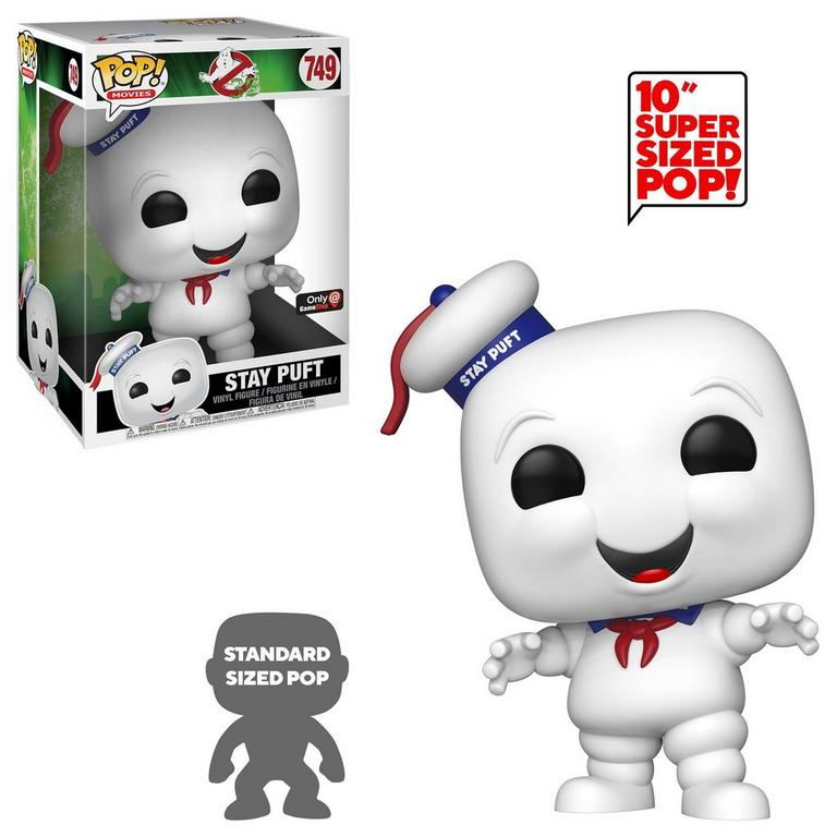 POP! Movies: Ghostbusters - 10 inch Stay Puft - Only at GameStop