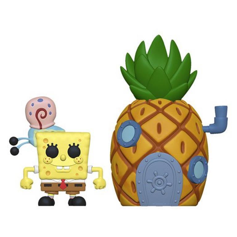 POP! Town: Spongebob Squarepants Spongebob with Pineapple