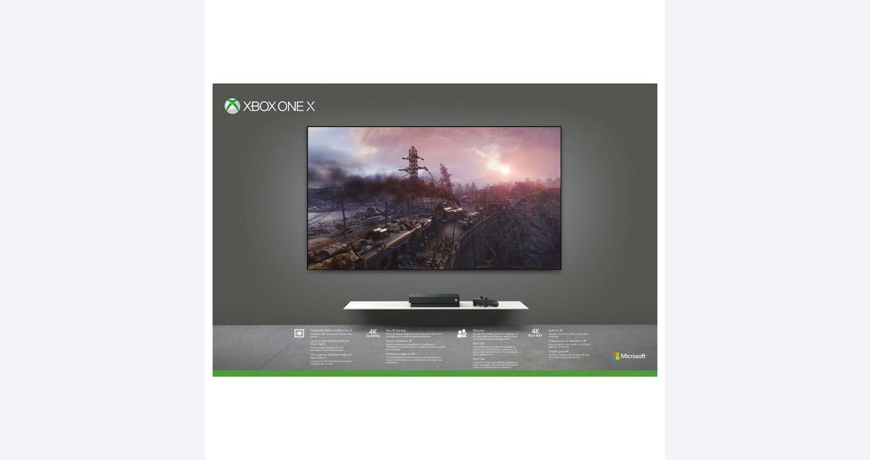 Xbox One X 1TB Metro Saga Bundle