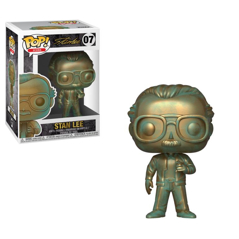 POP! Icons: Stan Lee Patina