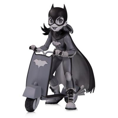 Batgirl by Chrissie Zullo Black and White DC Artists Alley Statue