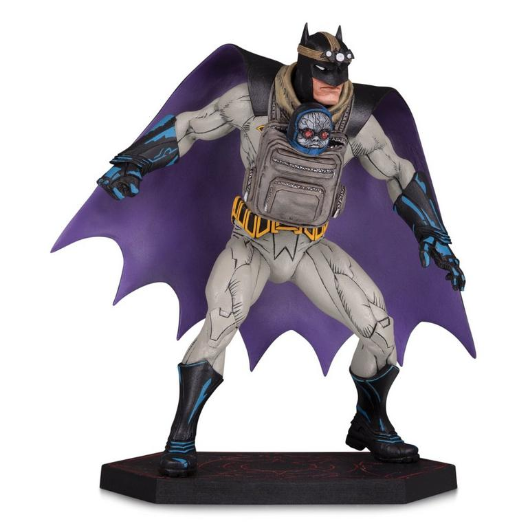 Dark Nights: Metal Batman with Baby Darkseid Designer Series Statue