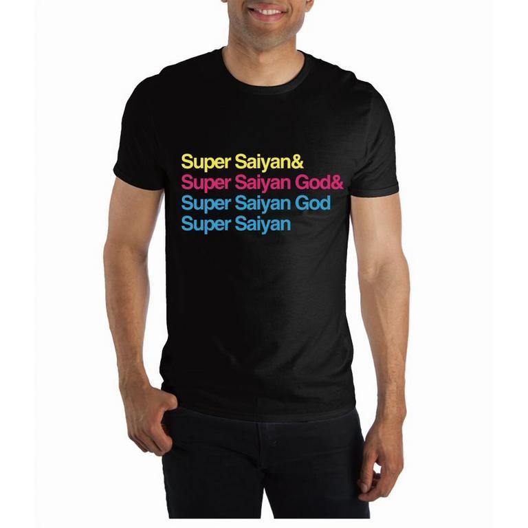 Dragon Ball Super Saiyan T-Shirt