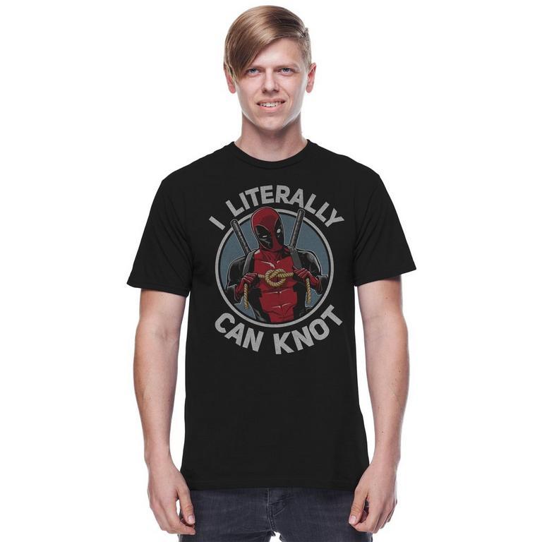 Deadpool Can Knot T-Shirt
